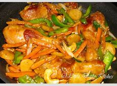 chicken stir fry w  frozen mixed vegetables image