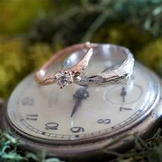 nature inspired wedding rings for nature lovers and woodland fairies offbeat bride