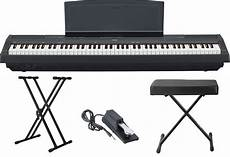 Yamaha P115b Standard Digital Piano Bundle Review Oia