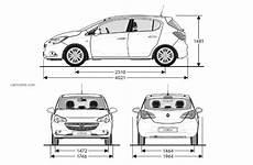Opel Corsa 5 2014 Fiche Technique Dimensions