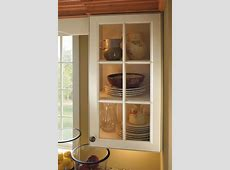 Wall Cabinet with Mullion Doors   Aristokraft Cabinetry