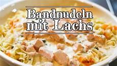 Rezept Bandnudeln Mit Lachs Kitchen Folge 157
