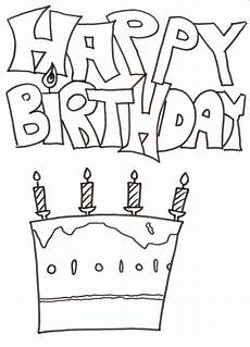 Malvorlage Geburtstag Zum Ausdrucken Pin Auf Ausmalbilder