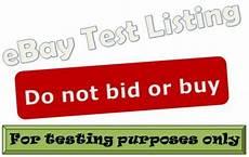 bid or buy buy new ebay test listing do not bid or buy