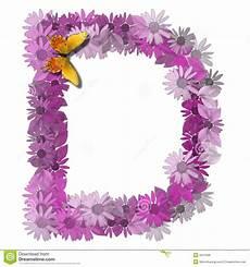 Alphabetical Letter Consonant D Royalty Free Stock Photos