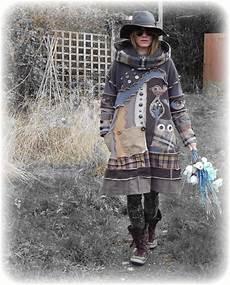 Alte Kleidung Verkaufen - woodland folk eule baum vogel urchin smock braunen pulli