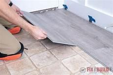 installing vinyl plank flooring how to fixthisbuildthat