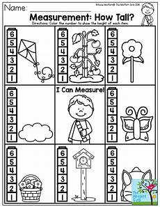 free non standard measurement worksheets for kindergarten 1865 measurement how a simple measuring activity for preschool there are plenty of other bas