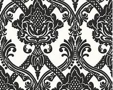 Popular Images Schwarzen Barock Muster