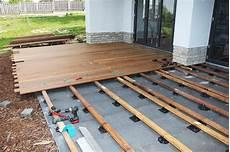 Die Perfekte Unterkonstruktion F 252 R Die Holzterrasse