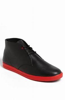 clae strayhorn chukka boot in black for men black nubuck lyst