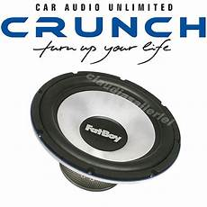 crunch xfat 154 fatboy free air subwoofer 38cm bass woofer
