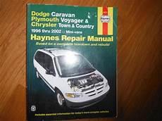 car manuals free online 2002 dodge caravan electronic toll collection 1996 2002 dodge caravan voyager chrysler t c service manual central nanaimo parksville
