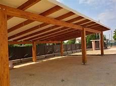 illuminazione per gazebo in legno carport 12 x 6 5 mt per 4 posti auto in legno lamellare e
