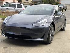 tesla model 3 gray chrome 2018 tesla model 3 grey distinctiv detailing