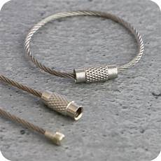 wire rope connector with 150 mm silver