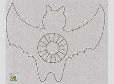 Theelichthouder vleermuis, spook of spin   Halloween