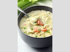 creamy turkey soup with homemade noodles_image