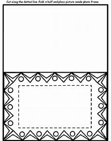 design photo frame coloring page crayola