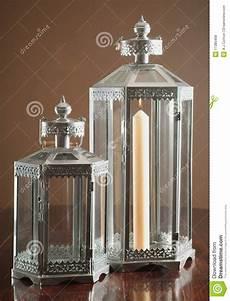 lanterne a candela lanterne classiche della candela fotografia stock