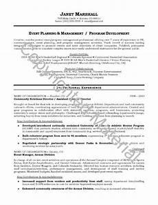 resume objective sle musiccityspiritsandcocktail cv event
