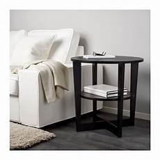 ikea tische wohnzimmer vejmon side table black brown ikea