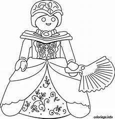 coloriage playmobil princesse dessin