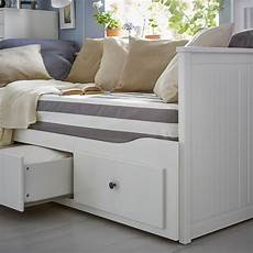Hemnes Day Bed W 3 Drawers 2 Mattresses White Malfors