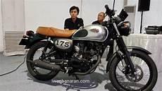 Modifikasi W175 Se by Kawasaki W175 Indonesia Resmi Meluncur Cek Harga Dan
