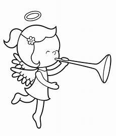 Ausmalbilder Weihnachten Engel Kostenlos Ausmalbild Engel Engel Mit Trompete Kostenlos Ausdrucken