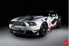 mustang gt custom painted to match the racing pedigree