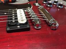 gibson sg bridge conversion to tonepros hardware and a setup guitars united