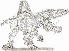 Ausmalbilder Dinosaurier Spinosaurus Spinosaurus Coloring Pages To And Print For Free