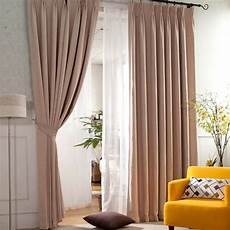 Brown Curtains by Light Brown Modern And Thermal Insulating Curtains