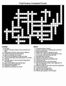 field hockey crossword and word search puzzles by lonnie jones