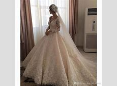 2017 Elegant Ball Gowns Wedding Dresses V Neck Illusion