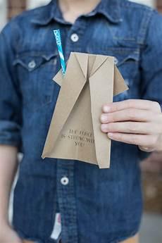 jedi robe origami with pixy stix lightsaber live free creative