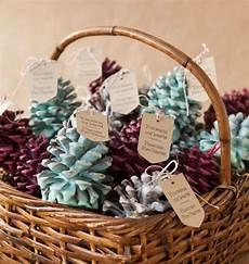 winter pinecone diy wedding favors favecrafts com