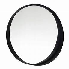 miroir rond metal miroir rond en m 233 tal noir d60 clifford maisons du monde