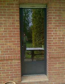 Porte De Service Vitr 233 E En Aluminium De Chez Ral