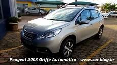 peugeot 2008 1 6 griffe autom 225 tico desempenho e consumo www car br