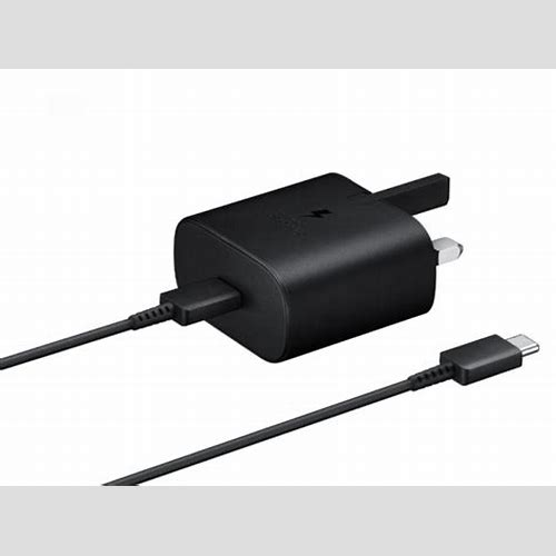 Samsung USB-C Super Fast Travel Charger Travel Adaptor (45W with 1m Type-C to Type-C 5A Cable) Black