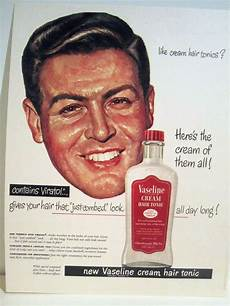 vitalis hair tonic vintage vintage 1949 new vitalis cream hair tonic barbershop color sign ad ebay hair tonic
