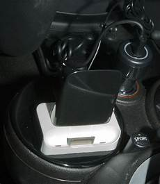 support iphone mini cooper doccas voiture