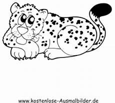 ausmalbild leopard zum ausdrucken