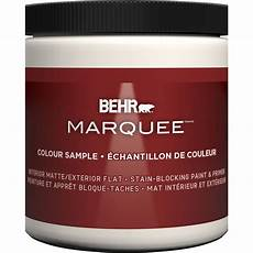 behr marquee marquee 8 oz deep base matte interior paint sle with primer the home depot canada