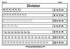worksheets on division for grade 2 6657 beginner division equally picture division 14 worksheets with images division