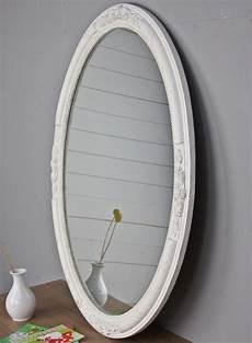 wandspiegel spiegel oval neu wei 223 holz verzierungen