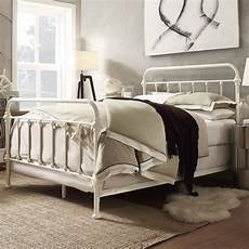 White Metal Bed Frame Bedroom Ideas by Cool White Metal Bed Frame Home Design White