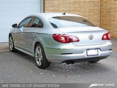 Vw Cc Tuning - awe tuning vw cc 2 0t touring edition performance exhaust
